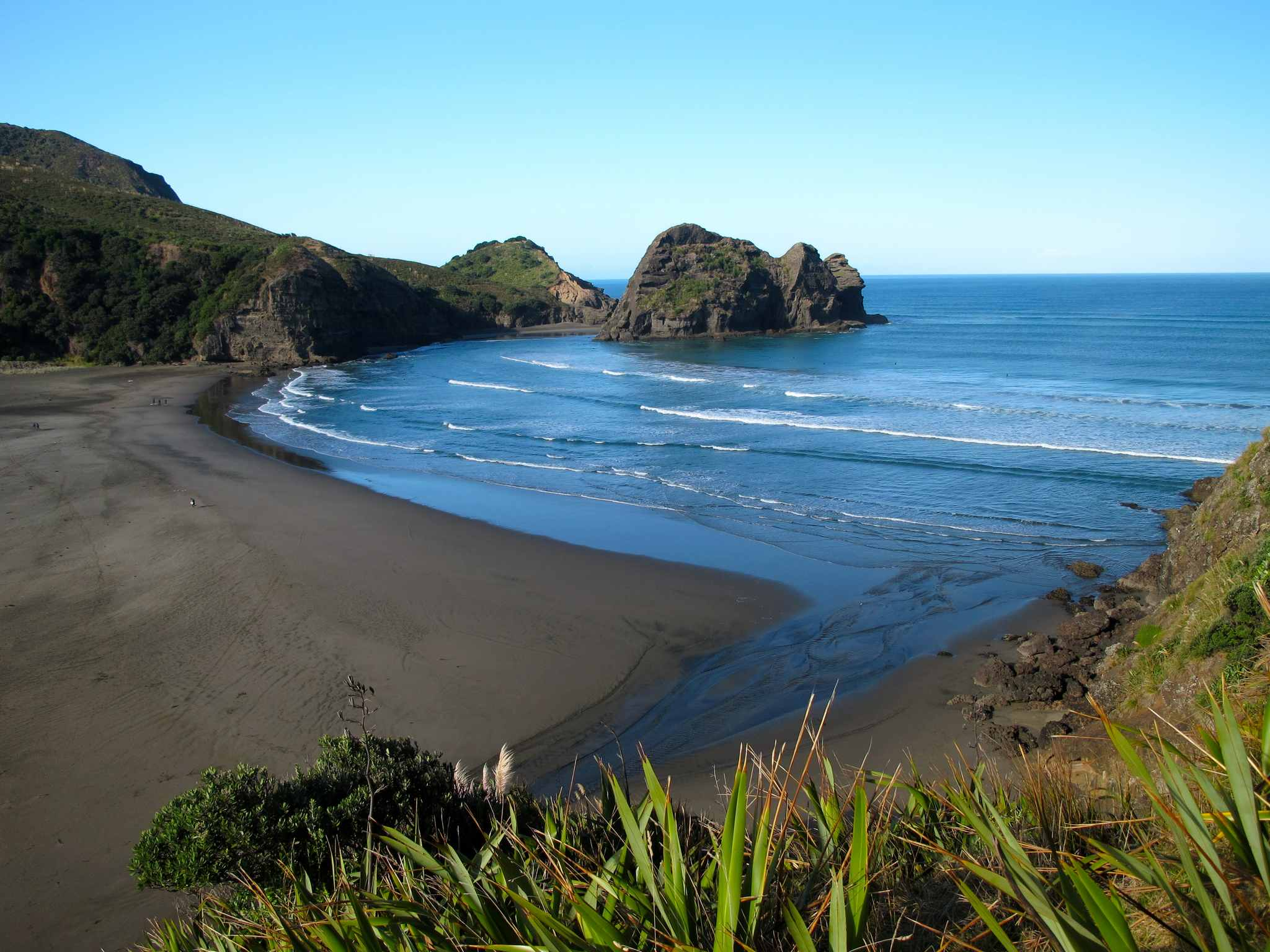 Piha Beach (D4) | Nz Frenzy North Island New Zealand